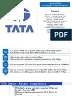 House of Tata - Acquiring a Global Footprint