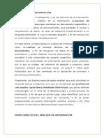 Centro Análisis de La Información