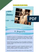 Teoría Educativa de John Dewey