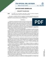 Ley Paliar Pobreza Energética Comunitat Valenciana