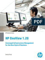 HP OneView 120 Converged Infrastructure Management for the New S