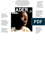 fader cover analysis