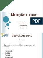 Medicao e Erro