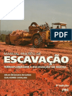 Manual Prático de Escavação Terraplenagem e Escavação de Rocha Hélio de Souza e Guilherme Catalani
