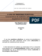 apresentação Madeira Plástica