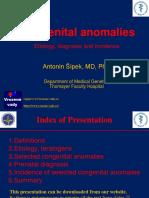 Congenital Anomalies 3LF 2008