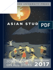 Asian Studies 2017 catalog