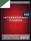 International Studies 2017 catalog