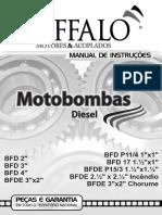 Manual Motobombas Diesel Bufalo