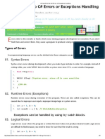 A Deep Dive into C# Errors or Exceptions Handling.pdf
