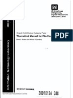 Theoretical Manual for Pile Foundations