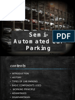 Semi-Automated Parking System