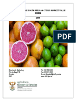 Citrus Market Value Chain 2015