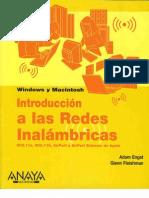 Introduccion a Las Redes Inalambricas-Anaya Multimedia-Adam Engst-Glenn Fleishman Para Windows Y Macintosh