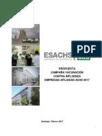 Propuesta Vacunación Empresas Afiliadas ACHS