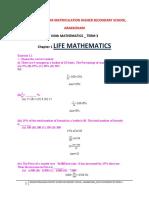 8th Term 3 Mathematics