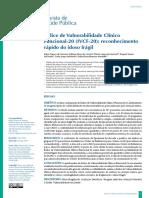Índice de Vulnerabilidade Clínico Funcional-20 (IVCF-20)