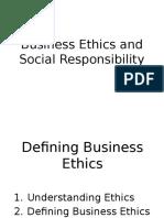 Ch 1 Understanding Ethics