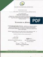 Acta de Grado Luis Eduardo