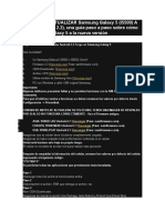 Guía Para Actualizar Samsung Galaxy 5 Gt15500l