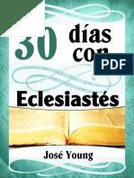 30 Dias Con Eclesiastes