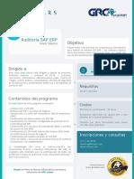 Mazars - Ficha Auditoría SAP ERP Básico