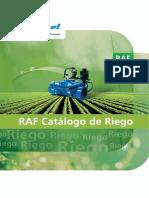 Catalog-SPA. RAF Irrigation (2011)