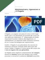 10 Cibi Per Disintossicare_ Rigenerare e Ringiovanire Il Fegato
