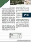 Monitor Económico y Financiero Del 12 Al 16 de Octubre de 2015