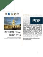 Encuesta EUTIC2014 sobre el uso de la tecnología en Patzún
