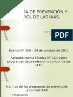 Prevenci+¦n y control de IAAS.2017
