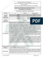 Programa de Formacion IRC