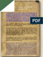 Carta a Gnosticos Joaquinistas