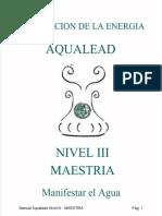 Manual Aqualead Nivel III Maestria