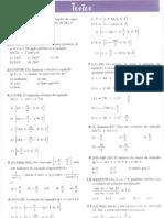 Matemática - Trigonometria - Lista de Exercícios - Equações e Inequações Trigonométricas