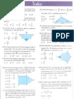 Matemática - Trigonometria - Lista de Exercícios - Resolução de Triângulos