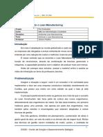 Tema01 - Ambiente Lean Manufacturing