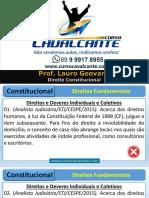 Direito Constitucional - Aulão Ao Vivo Pm Pe 2016
