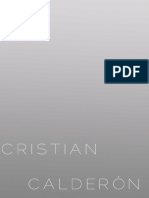 Porta Folio Cristian Calderón 2016