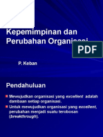 Kepemimpinan Tm 4-Kepemimpinan Dan Perubahan Organisasi