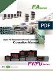 Operation Manual of TAIE (FU,FY,FA)