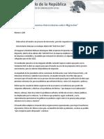 """09-03-17 IBD Presenta """"Propuestas Universitarias Sobre Migración"""""""