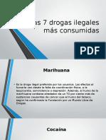 Las 7 Drogas Ilegales Más Consumidas [Autoguardado]