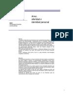 Amor, Alteridad, Identidad Personal - Sanchez Vera.pdf