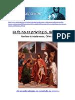 Cantalamessa, Raniero - La fe no es privilegio sino don.pdf