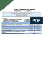 Calendario Académico 2017 Presencial y Semipresencial