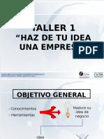 Haz de Tu Idea Una Empresa Presentacioni