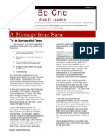 Toastmasters District 31- Area B1 Summer Newsletter 2010