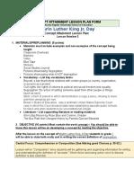 concept attainment lesson plan form