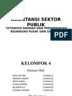 Akuntansi Sektor Publik Kelompok 4